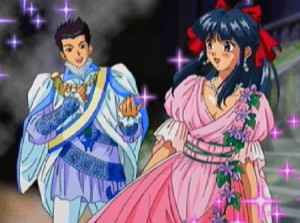 Damn, Ogami-kun is really looking good there... Oh, and Sakura is lovely too, of course