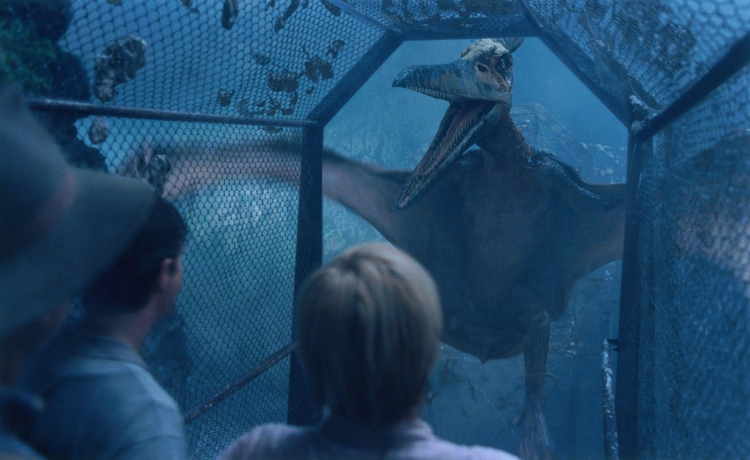 Jurassic Park III finally gives us the bird