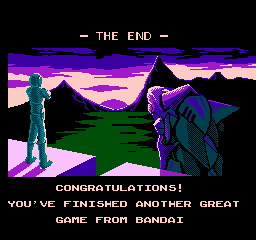 """Also, more games should end like this. """"Congratulations, youve beaten another great game from Phil Fish!"""""""