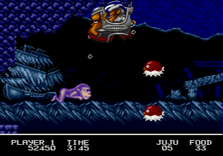 Pictured: The best enemy in any game since Mega Man 3 PC's jogging fish