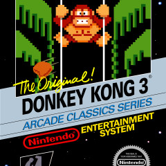 Donkey Kong 3 (NES) Review