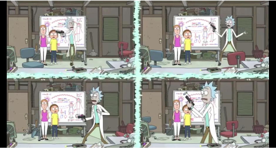 Rick's paranoia is getting the better of him.