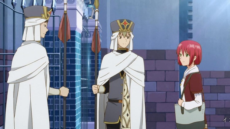 Meanwhile these two castle guards keep shipping Shirayuki with Zen, which is great.
