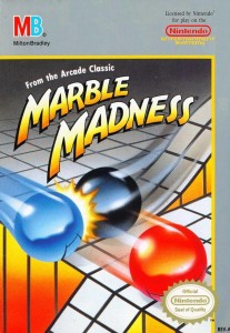 Marble Madness NES cover boxart