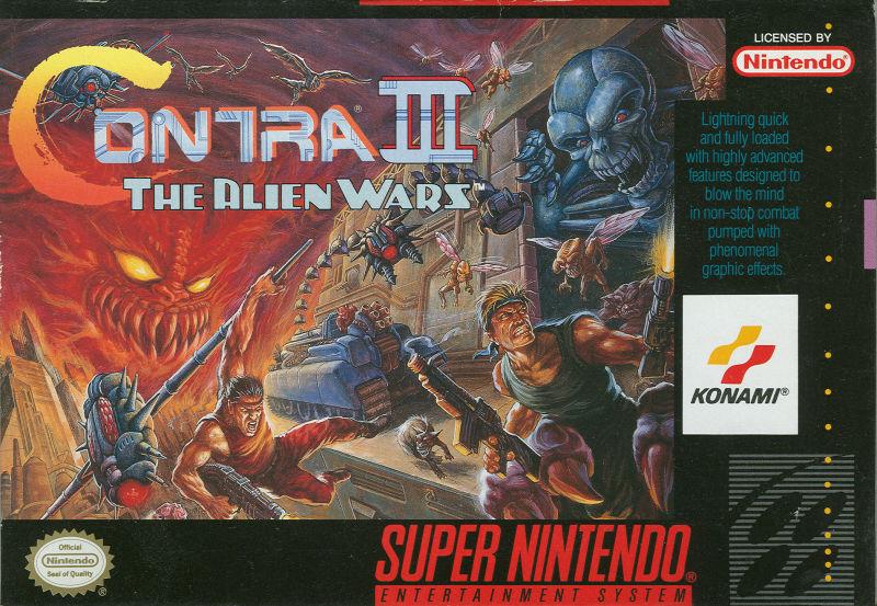 Contra III: The Alien Wars -
