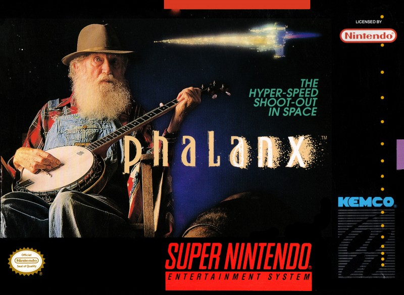 "Phalanx - ""The hyper speed shoot-out in space"""