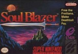 "Soul Blazer - ""Free the Freillans. Make Deathtoll Pay."""