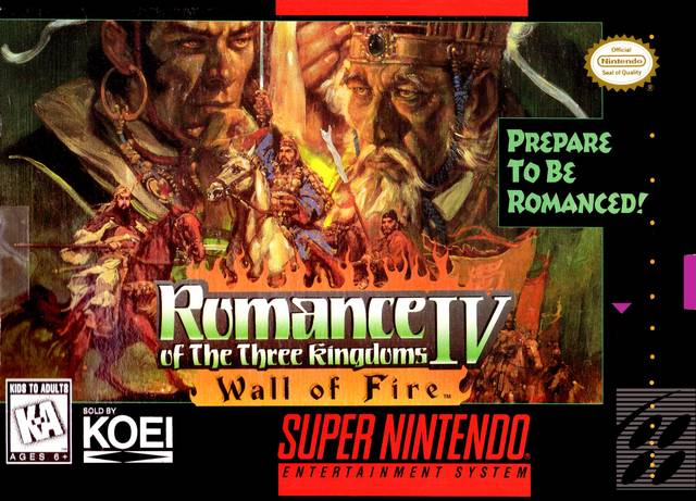 "Romance of the Three Kingdoms IV - ""Prepare To Be Romanced!"""