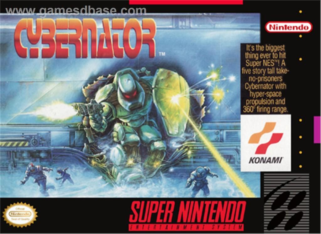 Cybernator - Konami