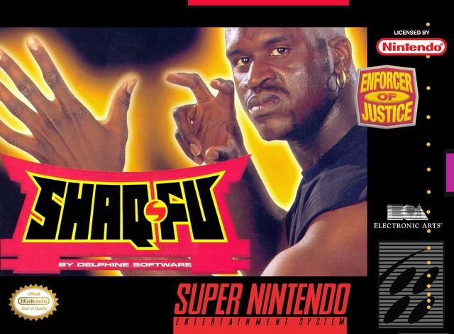 "Shaq-Fu - ""Enforcer of Justice"""