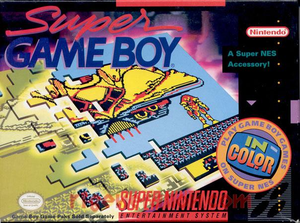 "Super Game Boy - ""A Super NES Accessory!"""