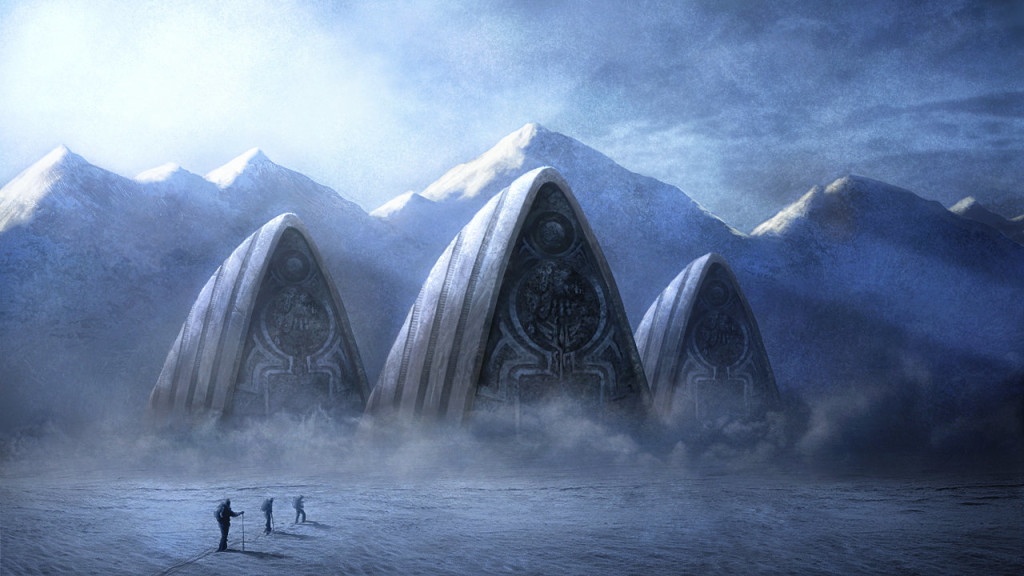 Antarctica used to be so cool... -- (art source)