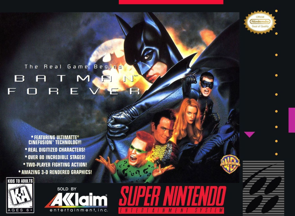 "Batman Forever - ""The Real Game Begins."