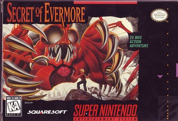 Secret of Evermore - 24 MEG ACTION ADVENTURE