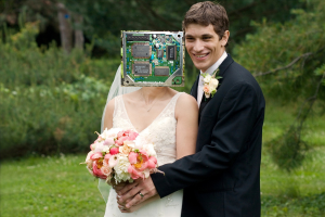 I now pronounce you man and sound chip.