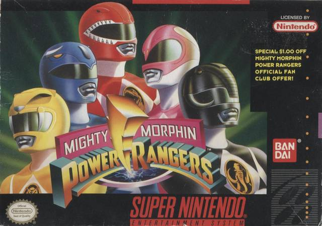 "Power Rangers - ""Special $1.00 off Mighty Morphin Power Rangers Official Fan Club Offer!"""
