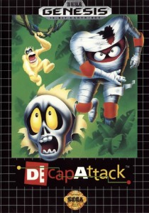 Trying to work out how the skull is ripping through the cover, when the mummy is in front of the cover too? Also, I don't remember any monkeys in this game.