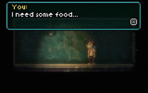 There's something about video games having lots of food lying around on the ground BTW