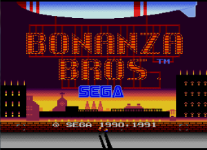 I think the title screen might be my favorite part of the game actually. I mean, a dirigible with their names in neon lights? How cool is that?