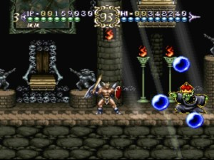 The number of skulls and demons in this game make Castlevania look tame.