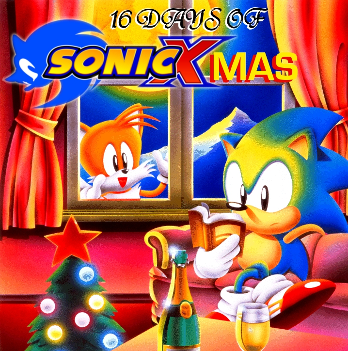 tails has been standing at that window for the last four hours - Sonic Christmas Hours