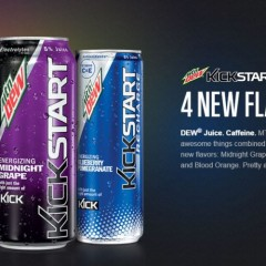New Kickstart Flavors – Watermelon – Blood Orange – Blueberry Pomegranate – Midnight Grape
